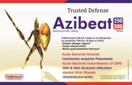 UNIBIOTECH FORMULATIONS PCD PHARMA COMPANY AZIBEAT VISUAL AIDS