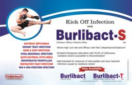UNIBIOTECH FORMULATIONS PCD PHARMA COMPANY BURLIBACT-S VISUAL AIDS