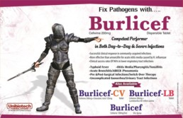 UNIBIOTECH FORMULATIONS PCD PHARMA COMPANY BURLICEF VISUAL AIDS
