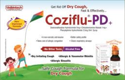 UNIBIOTECH FORMULATIONS PCD PHARMA COMPANY COZIFLU-PD VISUAL AIDS