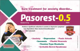 UNIBIOTECH FORMULATIONS PCD PHARMA COMPANY PASOREST VISUAL AIDS