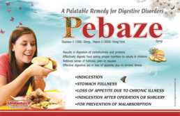 UNIBIOTECH FORMULATIONS PCD PHARMA COMPANY PEBAZE VISUAL AIDS