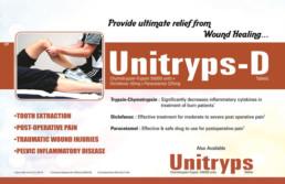 UNIBIOTECH FORMULATIONS PCD PHARMA COMPANY UNITRYPS-D VISUAL AIDS