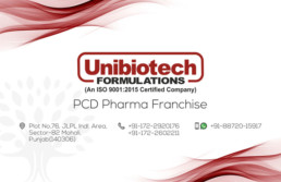 UNIBIOTECH FORMULATIONS PCD PHARMA FRANCHISE VISUAL AIDS
