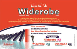UNIBIOTECH FORMULATIONS PCD PHARMA COMPANY WIDEROBE VISUAL AIDS