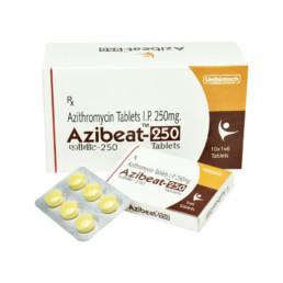 UNIBIOTECH FORMULATIONS AZIBEAT-250 TABLETS