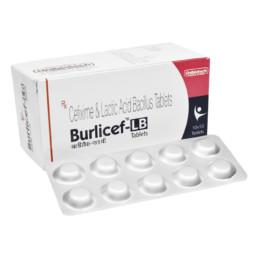UNIBIOTECH FORMULATIONS BURLICEF-LB TABLETS