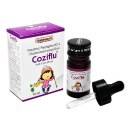 UNIBIOTECH FORMULATIONS COZIFLU SYRUPS OR SUSPENSIONS