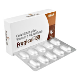 UNIBIOTECH FORMULATIONS FRAGICAL-CF TABLETS