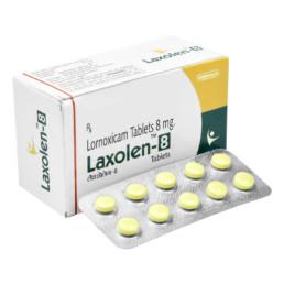 UNIBIOTECH FORMULATIONS LAXOLEN-8 TABLETS