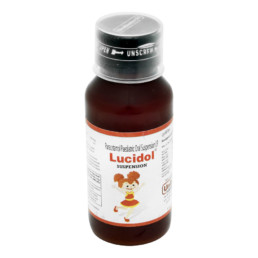 UNIBIOTECH FORMULATIONS LUCIDOL SYRUPS OR SUSPENSIONS